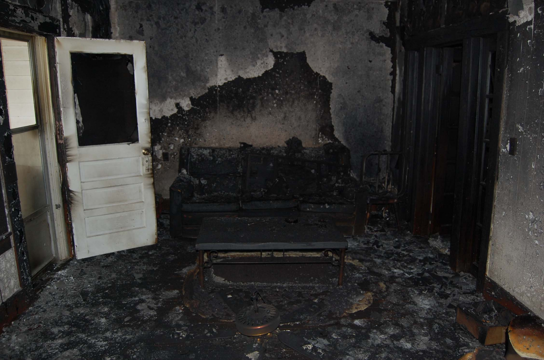 Fire Damage Cleanup Service Laconia Nh Soil Away Llc