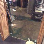 Basement flood cleanup – Candia, NH