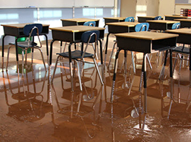 Flooded-School