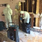 Water Damage from a Burst Pipe NH