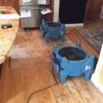 Water Damage Restoration from Frozen Pipe Burst - Concord, NH
