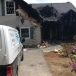 Fire damage cleanup – Old Orchard Beach, ME